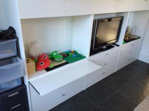 Maatwerk tv meubel/kast - Blaricum